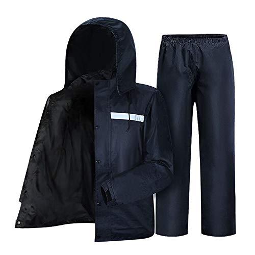 Dinglihuaqu Regenbroek tegen spatwater, winddicht, reflecterende strepen, split regenkleding Premium suit3XL180