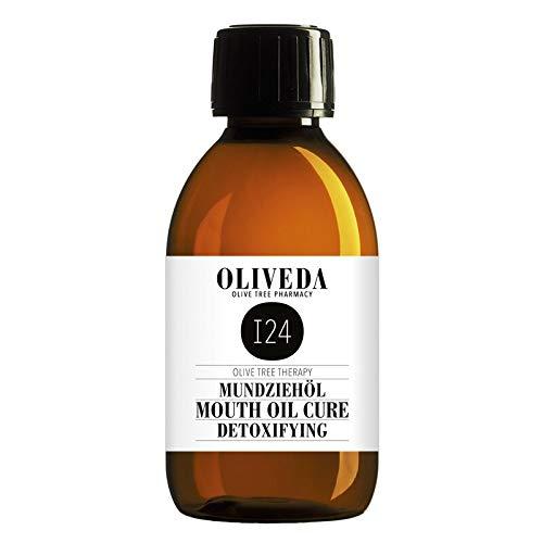Oliveda I24 - Natürliches Mundziehöl Marokkanische Minze | Zahnöl, Öl ziehen, Ayurvedische Mundspülung | Ölziehkur - 200 ml