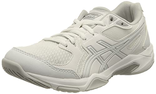 Asics Gel-Rocket 10, Zapatillas de vóleibol Mujer, White/White, 39.5 EU