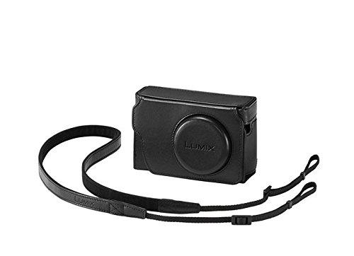 Panasonic - Funda de piel para TZ80, color negro