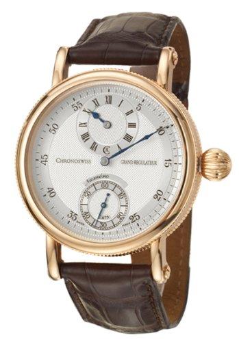 Chronoswiss Grand Regulateur in oro rosa 18 k, Men's Watch 6721-CH-R