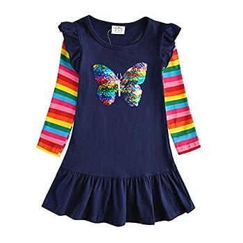 Best girls long sleeve dresses Reviews