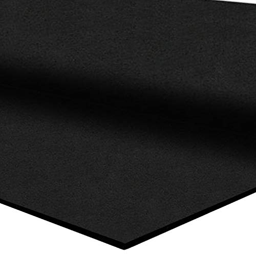 IncStores 3/8' Heavy Duty Gym Flooring Rubber Rolls