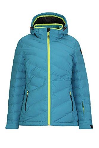 Killtec Damen Hilja Snowboardjacke, Aqua, 40