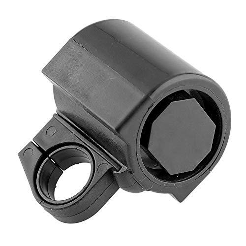 Depory - 1 Timbre electrónico para Manillar de Bicicleta, Accesorio para Bicicleta de montaña, 5 x 6,8 cm, Color Negro