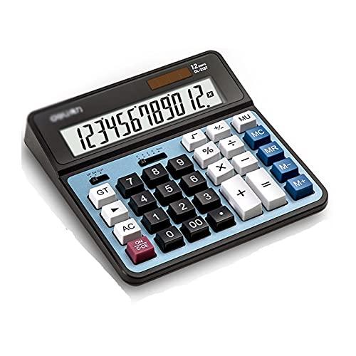 Calculadoras Calculadora de escritorio Contabilidad Especial Pantalla grande de 12 dígitos SOLUCIONAL DE POTENCIA...