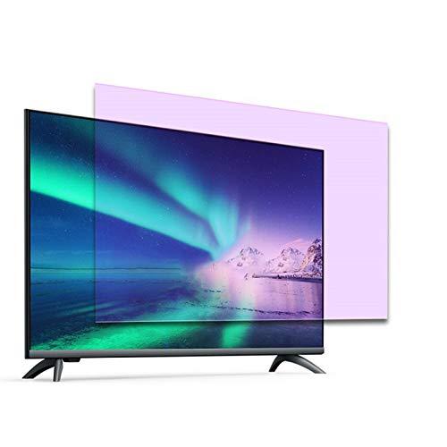 GFSD Anti-Reflejos Película Protectora para Pantalla para TV de 32-75 Pulgadas Filtra La Luz Azul Que Prevenir La Miopía,18 Tamaños (Color : HD Version, Size : 65 Inch 1429X804mm)
