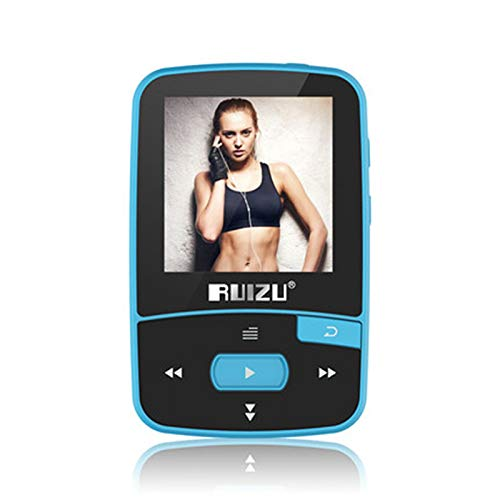 DZSF X50 Sport Bluetooth MP3 Player 8 Gb Clip Mini met Screen Support FM,Opnemen, E-Boek, Klok, Stappenteller