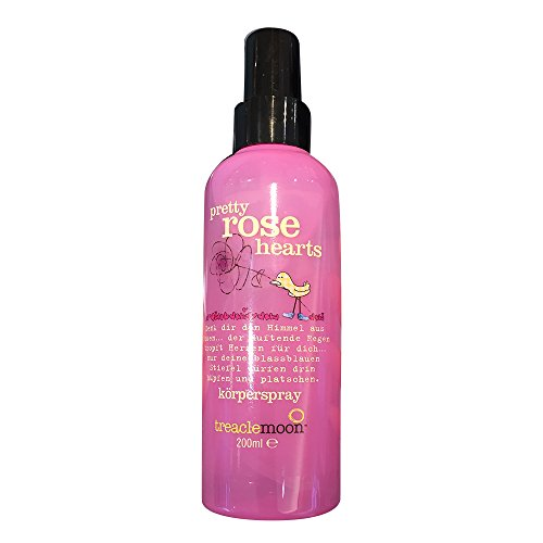 treaclemoon körperspray pretty rose hearts, 200 ml Flasche