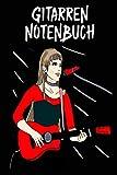 Gitarren Notenbuch: Gitarren Notenbuch für kleine und große Gitarristen - Tolles Gitarren Notenbuch - 120 Noten Seiten um deine Songs, Ideen und ... | ca. DINA5 | Geschenk für Musiker
