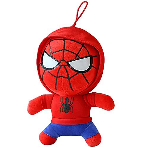 Muñeco De Peluche Hombre Araña, Hilloly 1 Pieza Juguetes De Peluche, Muñeca De Superhéroe De Peluche, Juguetes Blandos De Dibujos Animados, Regalo De Cumpleaños Spider-Man