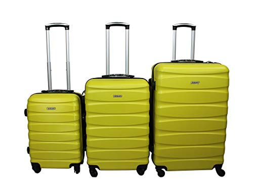 Dublin 2. Juego de maletas con 3 piezas en ABS y policarbonato...
