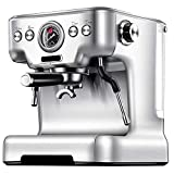 TGhosts Coffee Machine, Automatic Espresso Machine, High Power Steam 20bar Super Coffee And Cappuccino Machine 58mm Professional Funnel - Household Office Commercial