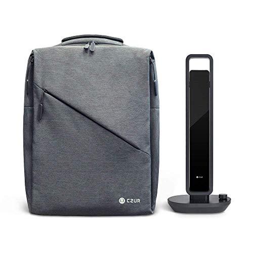 CZUR Aura Portable Package, Aura Bag + Aura-B Book & Document Scanner, Auto-Flatten & Deskew Powered by AI Technology, Foldable & Portable, Capture Size A3, Compatible with Windows & Mac OS