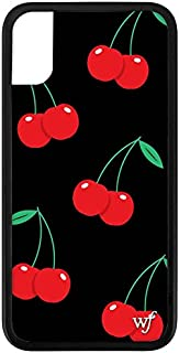 Wildflower Limited Edition iPhone Case for iPhone X and XS (Cherry Pop)
