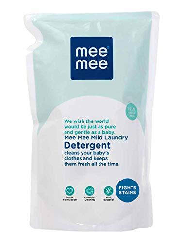 Mee Mee Mild Baby Liquid Laundry Detergent Refill Pack, 1.2L