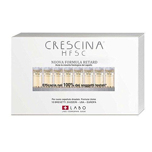 LABO CRESCINA Ri-Crescita HFSC RETARD 200 UOMO anticaduta capelli 10 Fiale