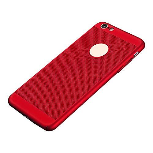Cubierta Trasera Dura y Transpirable para el iPhone X XR XS MAX 6 7 8 Plus