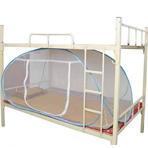 sans Logo KF-Net Moustiquaire pour lit King Size et Insectes en Forme de boîte en Forme de boîte de Camping en Plein air, 100 190 cm