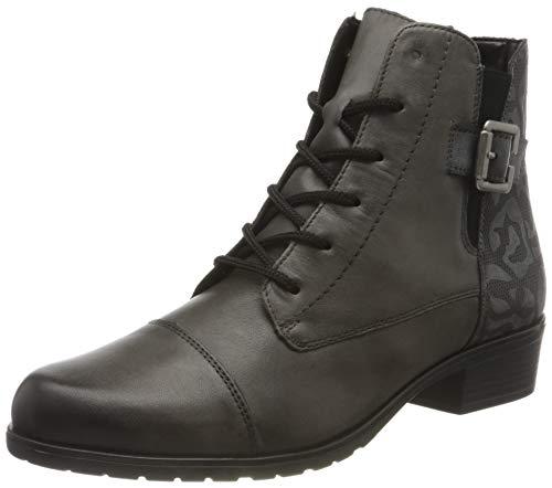 Remonte Damen D6875 Mode-Stiefel, Vapor/Asphalt / 41, 40 EU