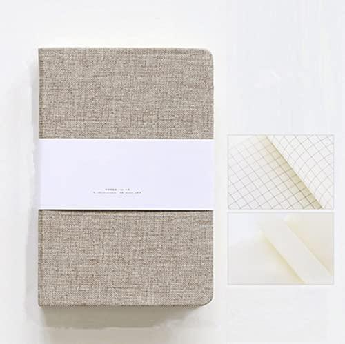 FACHAI Cuaderno de notas para reuniones, diario de viaje, diario de bocetos o planificador para notas para crear diarios que hagan registros diarios, 17,9 x 12,7 cm.