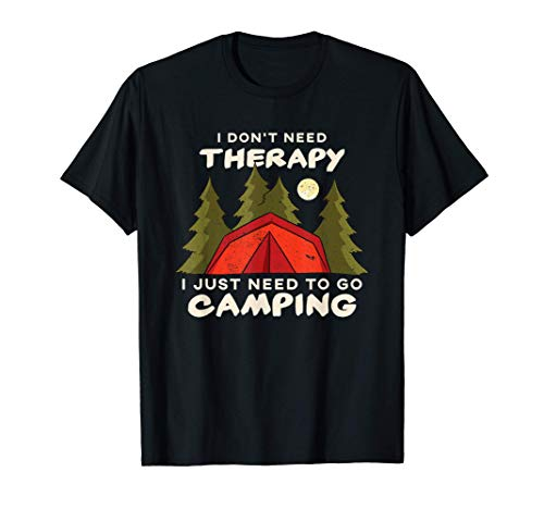 Need To Go Camping - Carpas Camper Scout Camiseta