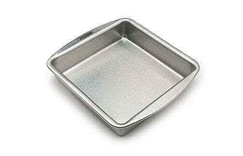 Doughmakers 9' Square Cake Commercial Grade Aluminum Bake Pan