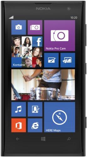 petit un compact Smartphone 4G débloqué Nokia Lumia 1020 (écran: 4,5 pouces, 32 Go, SIM unique, Windows Phone) noir