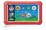 Clementoni- My First 8'' Plus, Tablet per Bambini-clempad 3 Anni, 8 Pollici, Android 9, 16 GB di Memoria, 3G o WiFi, Tante App preinstallate, Tastiera Inclusa, Versione in Italiano, Multicolore, 16629