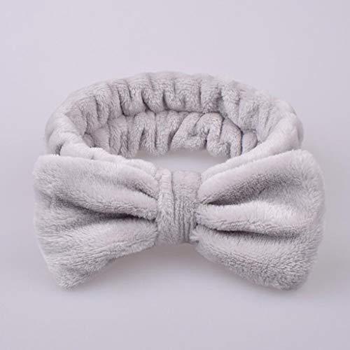 N/J Solid Color Women Headbands Headwraps,Velvet Hairband Solid Bow Knot Women Hair Ring Head Hoop Girls Headband Fashion Sport Accessories