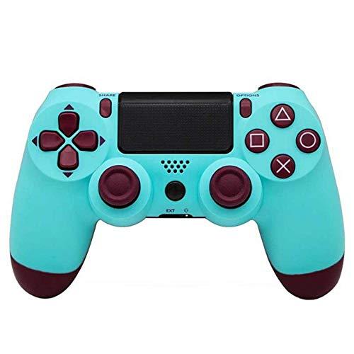 CCCDB®Wireless-Game-Controller, Ps4 Controller Controller Bluetooth 4.0 PS4 Vier Generationen Schwingungsrückkopplung angewendet Bluetooth -Blau Grün