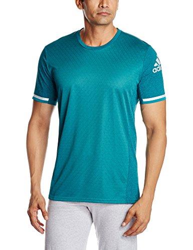 adidas Herren T-Shirt Supernova Climachill, grün (Chill Eqt Green/B Dd), XS