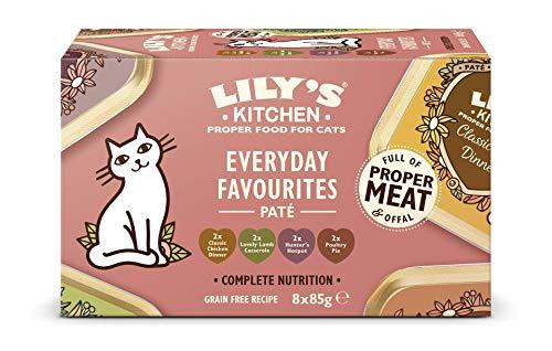 Lily's Kitchen Lot de Pâtée pour Chat Nourriture Naturelle/Complète 32 x 85 g