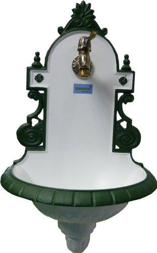 Tomco Wandbrunnen SISSI grün/weiß