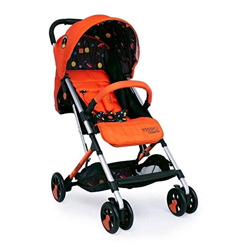 Cosatto Woosh 2 Pushchair – Lightweight Stroller From Birth to 25kg - One Hand Easy Fold, Compact (Spaceman)