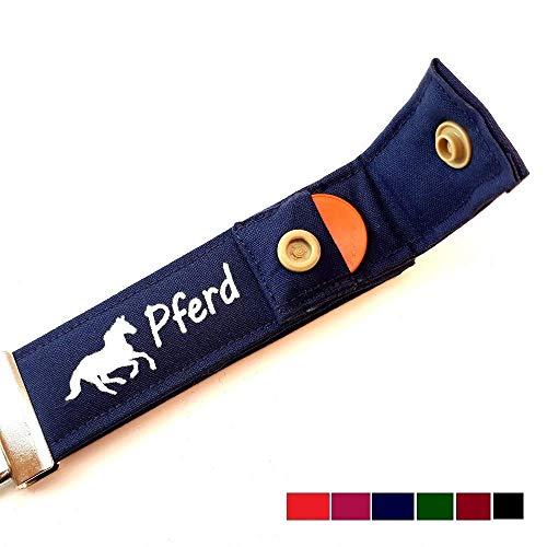 PFERDE Schlüsselanhänger mit Einkaufschip: