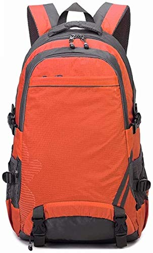 tgbnh Backpack,Hiking Backpack Backpack Unisex Water Resistant Travel Camping Mountaineering Walking Backpack Large Capacity Travel Outdoor Mountaineering (Color : Orange, Size : Extra large (55L))