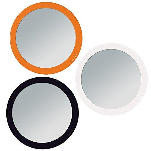 3x Runder kleiner 7.5 cm Taschen-Spiegel -