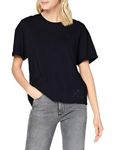 G-STAR RAW Womens Carrni Loose T-Shirt, Mazarine Blue C506-4213, L