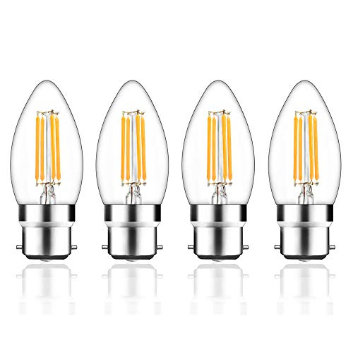 LED Bulb Candle 5W 400 Lumen Non Dimmable B15 Small Bayonet Warm White 35W Equiv