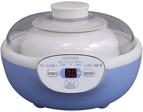 アイリスオーヤマヨーグルトメーカー3段階温度調節PYG-15-A