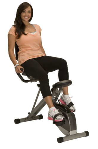 Exerpeutic (EXER6) Unisex Adult Exerpeutic 400XL Folding Recumbent Bike with Pulse...