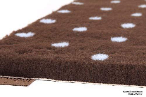 Original Vetbed™ Isobed SL -Dots- braun/blau 75 x 50 cm