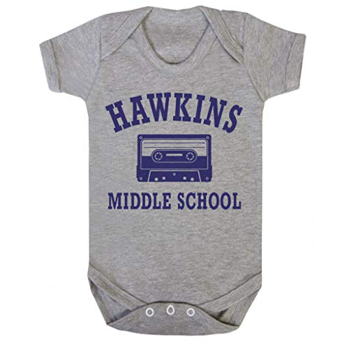 Cloud City 7 Hawkins middelbare school vreemdere dingen baby groeien korte mouw