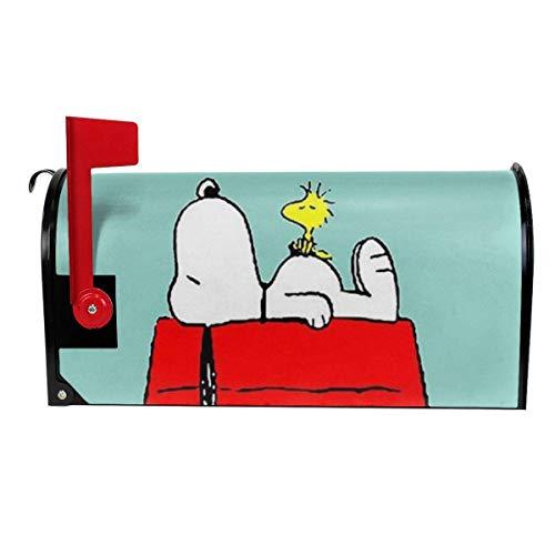 Sumptuous Lustige Briefkasten-Abdeckung, Snoopy-Druck, magnetisch, Briefkasten-Abdeckung, Haus-/Gartendekoration