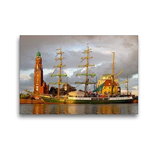 CALVENDO Premium Textil-Leinwand 45 x 30 cm Quer-Format Bark Alexander von Humboldt I, Leinwanddruck von Stoerti-md