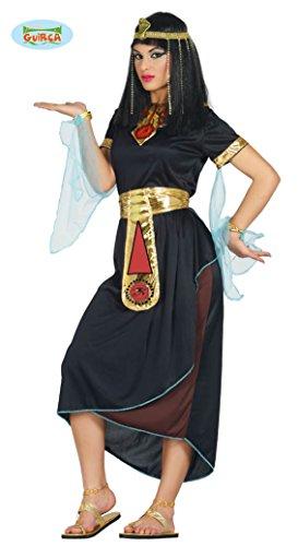 Guirca 80870 - Cleopatra Negra Adulta Talla M 38-40