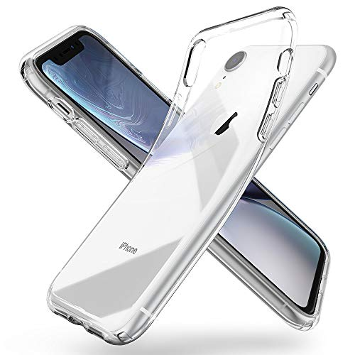 Spigen Liquid Crystal Hülle Kompatibel mit iPhone XR -Crystal Clear