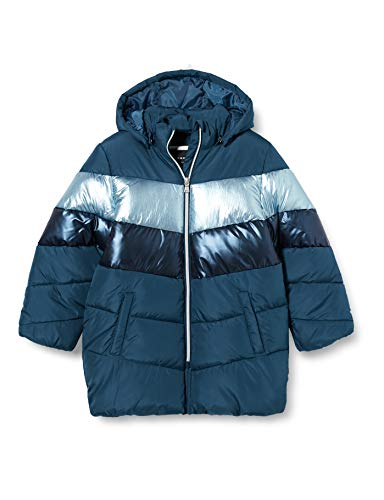 NAME IT NKFMADELEINE Puffer Jacket Chaqueta, Gibraltar Sea, 116 cm para Niñas
