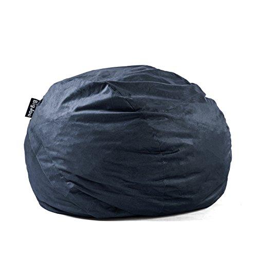 Big Joe Lenox Fuf Foam Filled Bean Bag, King, Cobalt